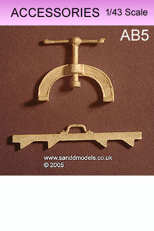 S&D Models - 1/43 Scale Detailing Accessories - www sanddmodels co uk